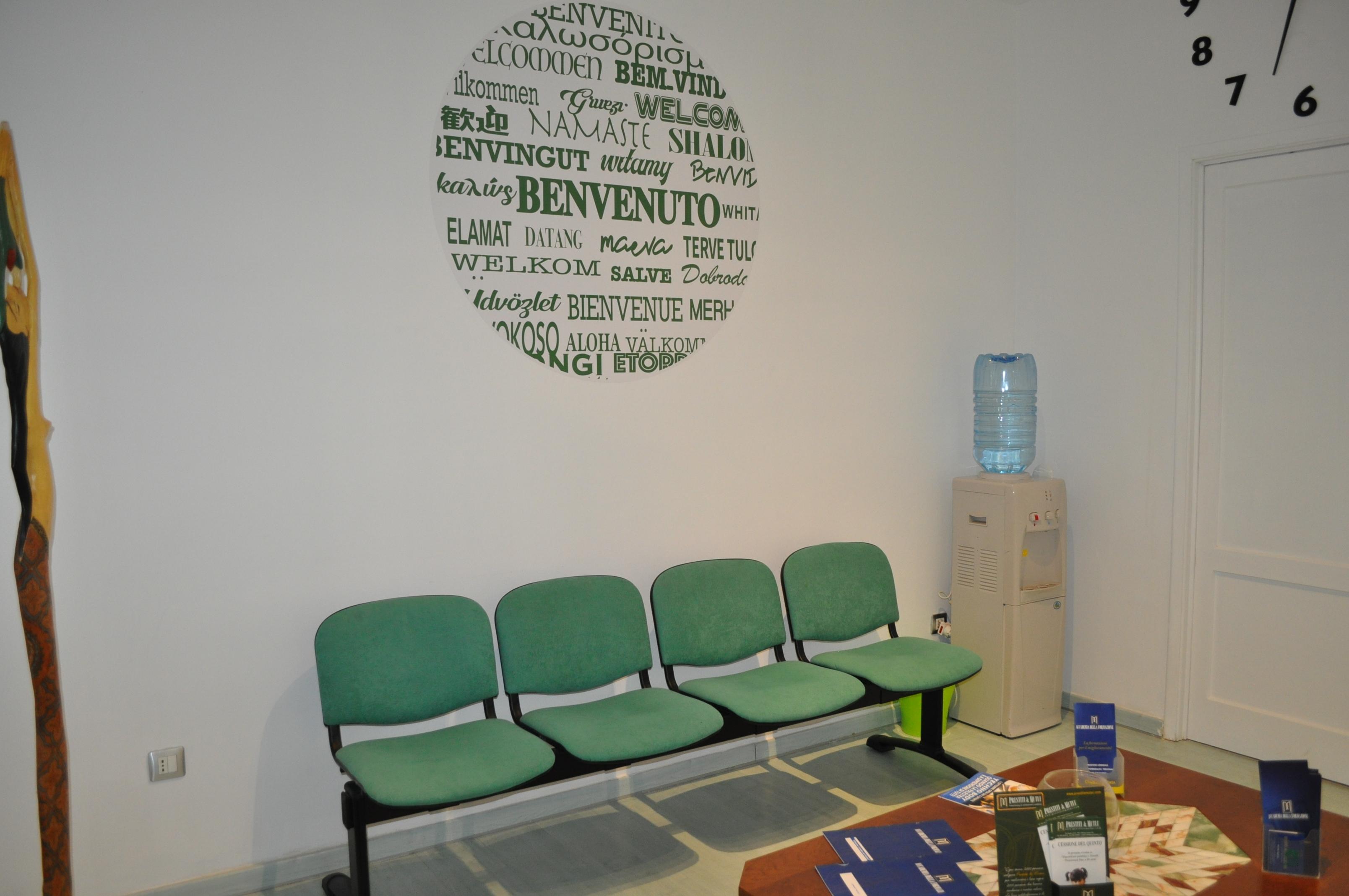 sala d'attesa Accademia della Formazione